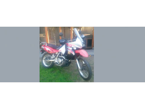 2008 KAWASAKI 650 DUAL SPORT 33K mi very good cond garage kept no longer use clean title no ac