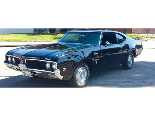 1969 OLDSMOBILE CUTLASS SUPREME V8 350 3 pro exhaust system w X pipe 4 new tires paid  1500 t