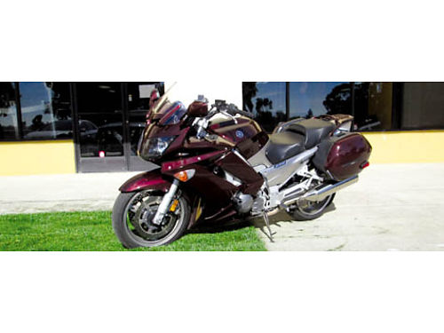 2007 YAMAHA FJR1300 59K miles new tires battery  recent major service outfitted with all the ri
