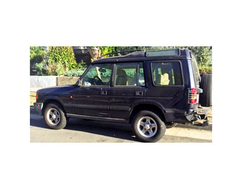 1997 LANDROVER DISCOVERY runs good newer tires must see 1700