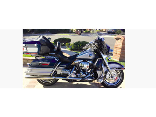 1999 HARLEY DAVIDSON ULTRA CLASSIC Twin Cam 95 ci chrm rims rotors forks PM brks spoiler on p