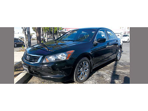 2010 HONDA ACCORD EX - extra luxury black beauty like new all power clean Carfax loaded looks