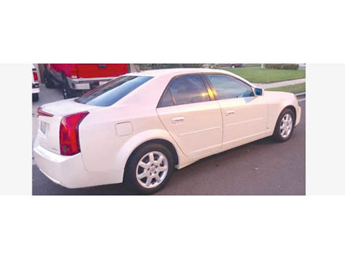 2007 CADILLAC CTS auto V6 111K mi Bose stereo syst with amps in trunk- surround sound stereo sys