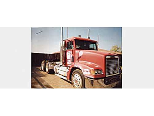 1995 FREIGHTLINER CONVENTIONAL - MII eng 13 wet kit Cozad ramps tow package long sliding fifth w