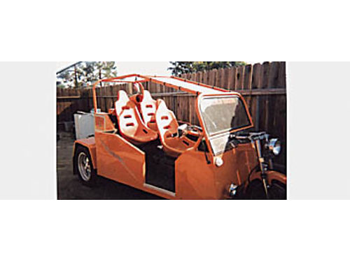 2000 ONE-OF-A-KIND-TRIKE GM V6 Automatic seats three stereo system registered for highway look