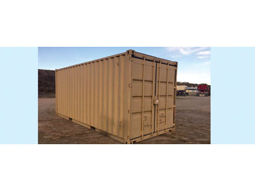 20 STORAGE CONTAINER wind  water tight good cond 1500