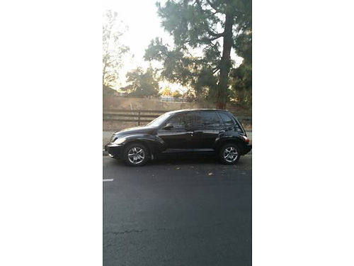 2007 CHRYSLER PT CRUISER auto 24L well maint new brakes recently smogged  reg 98K mi CD al