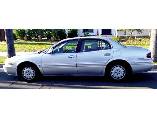 2000 BUICK LESABRE LTD 38L V6 only 76K miles all pwr AC CC CD current smog good cond drive