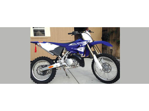 2016 YAMAHA YZ250X ridden 4x by adult only has orig rear tire FMF spark arrestor Duval radiator
