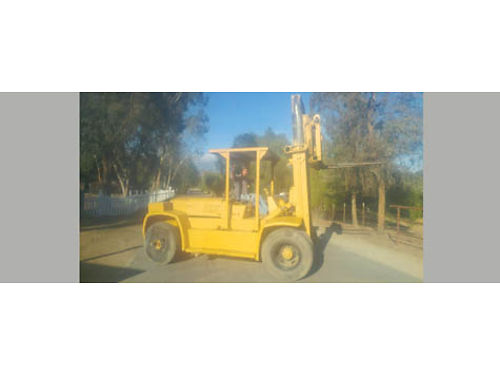 YALE FORKLIFT 20K LB Lifting capacity gas new hydraulic pump rblt curl ramps 12 forks availabl