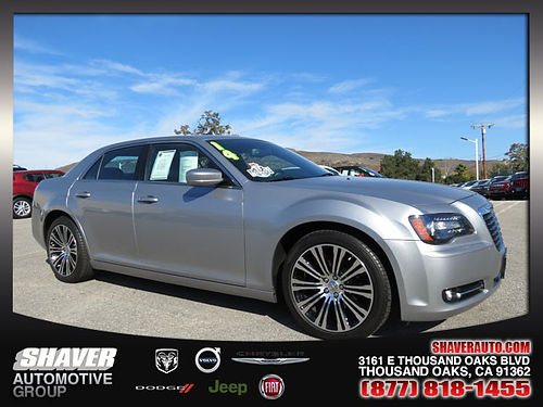 2014 CHRYSLER 300 S - only 12k miles Same as new loaded Call now Carfax 1 owner 146229 2250