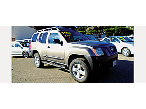 2006 NISSAN XTERRA SE - 4x4 new tires new catalytic converter 547580 7995 KARS with a K