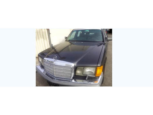 1986 MBZ 420 SEL auto V8 very nice cond in and out sunroof high fwy mi all services up to date