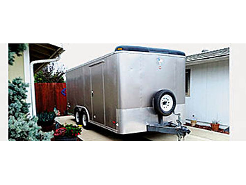 20 PACE ARROW ENCLOSED TRAILER multi use- work play toyhauler with workspace Must go 4500 8