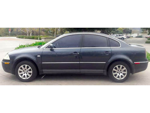 2003 VW PASSAT GLS 4dr auto OD 4cyl 18L Turbo fully loaded cassCD snrf airbags tint 143K