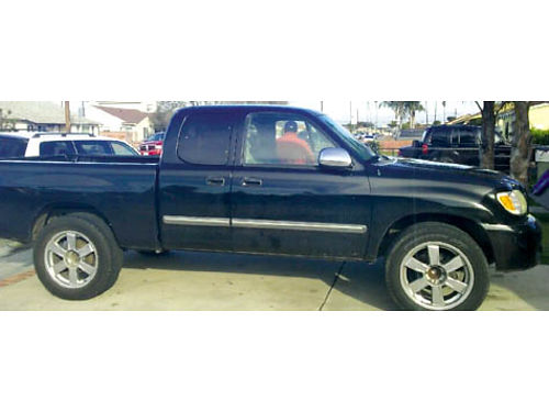 2003 TOYOTA TUNDRA EXT CAB 8 cyl 100K miles tow hitch great condition runs well maintained sm