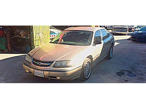 2004 CHEVY IMPALA - V6 Automatic 163K miles runs real good 4 door stereo nice rims 3000