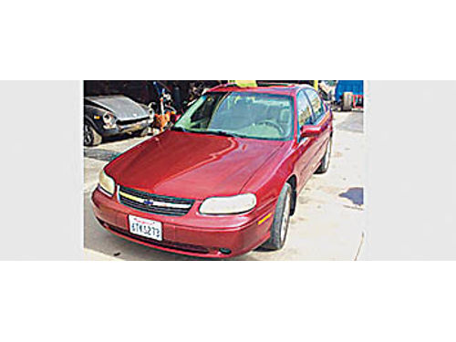 2002 CHEVY MALIBU LS - V6 Automatic PDL PW nice rims moonroof very clean 126K miles runs grea