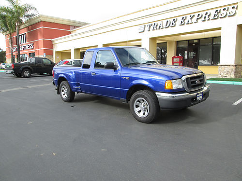 2004 FORD RANGER EXT CAB auto V6 new tires Ac CD bedliner runs great 3500
