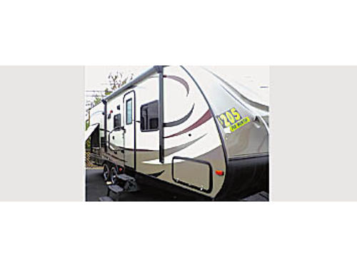 2016 FOREST RIVER SURVEYOR 243 RBS - slide outside kitchen 474427 From 33344 Sale - 27995