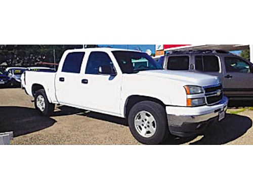 2006 CHEVY SILVERADO 1500 - 4x4 CREW CAB leather new tires 53 prem sound PS AC heated seats