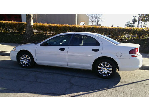 2004 DODGE STRATUS auto 4dr new tires clean in and out CD pw runs great 2900 obo