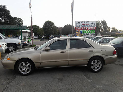 2001 MAZDA 626 ES - V6 auto amfmCD alloys power options runs great 6DEE592 3999 faceboo