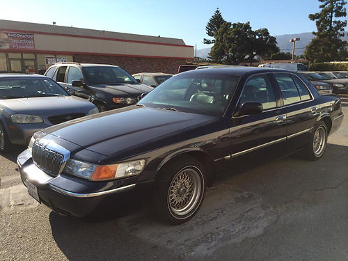 2000 MERCURY GRAND MARQUIS Sedan - auto power options V6 46L air leather alloys amfmcd onl