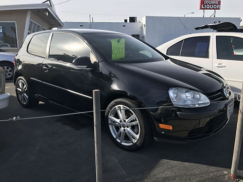 2007 VW RABBITT 25 - only 89k miles auto all pwr extra clean blk beauty alloys air stereo