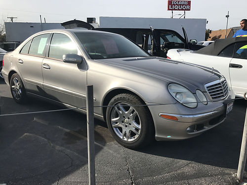 2006 MBZ E350 - extra luxury fully loaded leather sunroof alloys more all power super clean