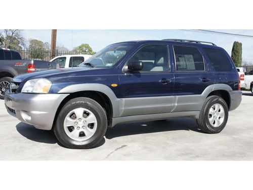 2002 MAZDA TRIBUTE - top od the line luxury roomy lthr snrf alloys air stereo CD more all p