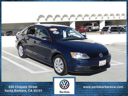2014 VW JETTA SE - 1 OWNER SERVICE REC CERTIFIED leather auto power opt mp3cd safe responsiv