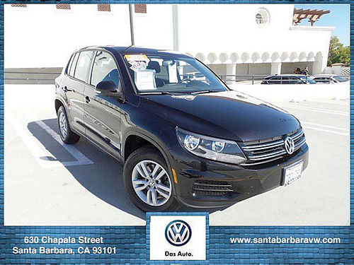 2013 VW TIGUAN S - Auto certified carfax with services power opt MP3CD economy utility with re