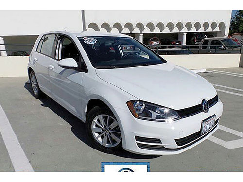 2016 VW GOLF TSI S - Certified CLEAN CARFAX LOW LOW MILESNimble responsive economy a blast