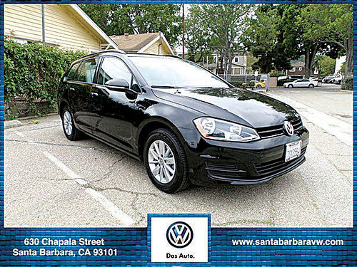 2016 VW GOLF sport wagen s - Certified LESS THAN 11500 MILES AUTO Compare to new  save 516830