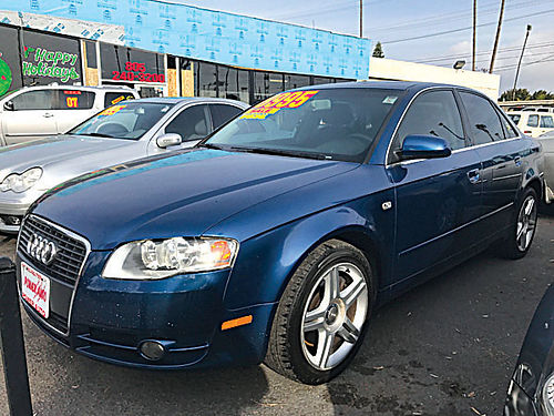 2007 AUDI A4 - Luxury  sporty extra clean all power alloy wheels loaded runs  looks excellent