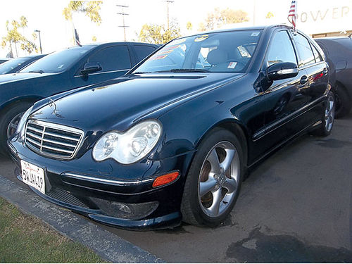 2006 MERCEDES-BENZ C230 - best luxury deal in town all pwr snrf lthr alloys  more loaded like
