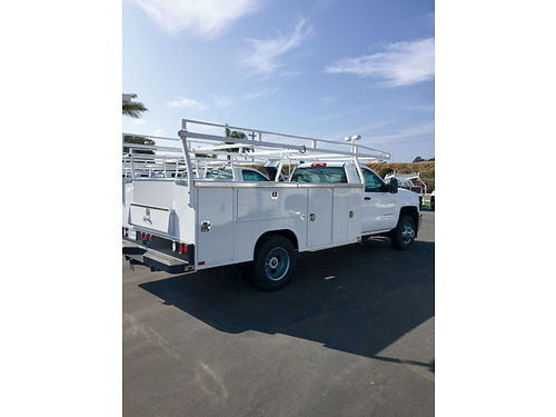 2015 CHEVY 3500 w11 ft Utility Body  Rack - new T151471666463 Special blowout price Paradise