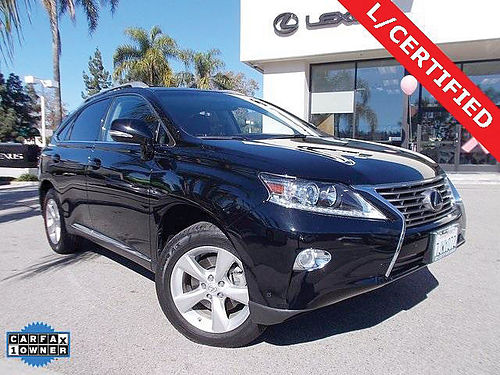 2015 LEXUS RX 350 - Lexus Certified 28700 miles clean Carfax one owner 30k mile service done