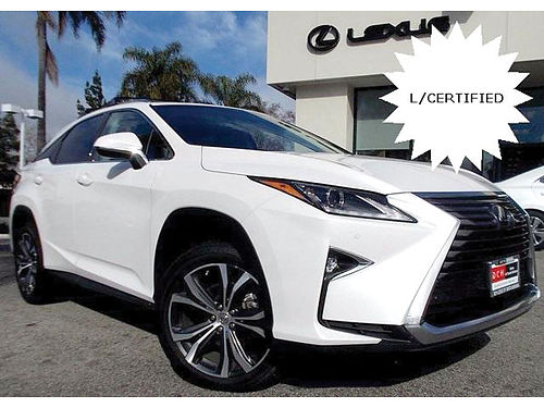 2016 LEXUS RX 350 - Lexus Certified Ultimate performance family safety luxury SUV 004347-LSR011