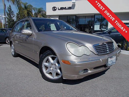 2002 BMZ C320 - Sharp condition luxury wagon auto leather full power 126058-LSF0097A 3498