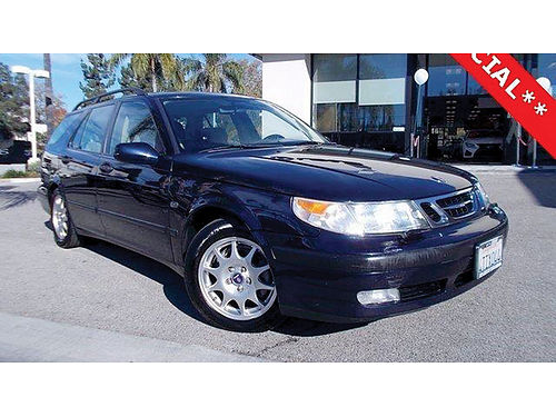 2001 SAAB 9-5 WAgon - Clean Carfax xlnt condition SURFS UP Or handy commuter 018592LSF0099A