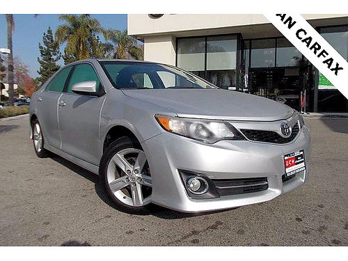 2013 TOYOTA CAMRY SE -Low miles auto MP3CD spacious reliable comfort A winner 243512-FXP1467
