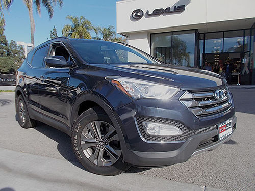 2013 HYUNDAI SANTA FE - Super nice All wheel drive safety 1 owner clean carfax 033260-LXP1910