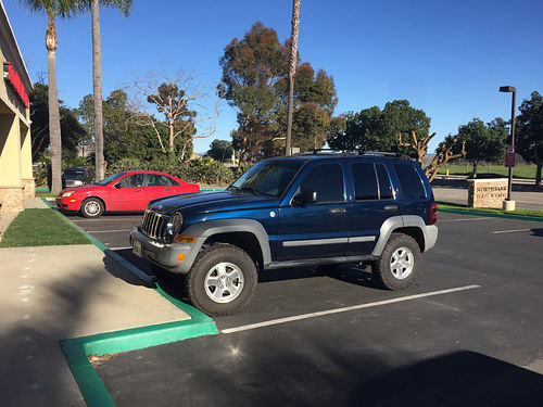 2005 JEEP LIBERTY 4x4 turbo diesel full power drives great good fuel economy 120K miles new tir