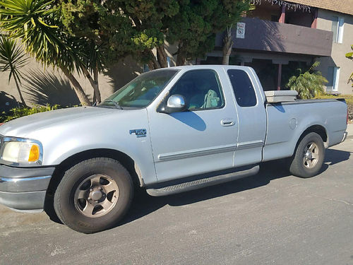 2002 FORD F150 EXT CAB auto good cond 5 pass high fwy miles toolbox tow pkg AC alarm well m