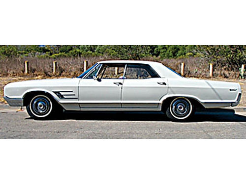 1965 BUICK WILDCAT CUSTOM 4-dr HT 401 ci 325 hp Body  int restored to xlnt cond109K orig mi r