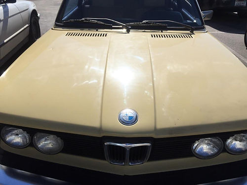 1977 BMW 320I cpe 2 dr stick shift 4cyl sunroof reblt eng 60K mi runs great great on gas ver