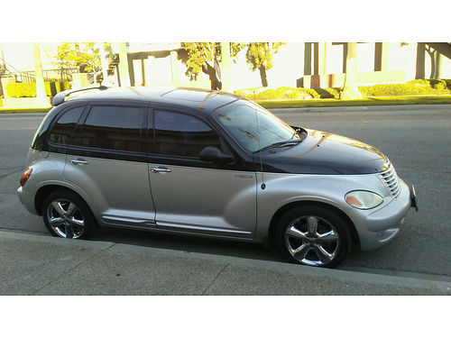2005 CHRYSLER PT CRUISER GT auto 4cyl lther new tires sunroof AC 112K mi very clean runs pe