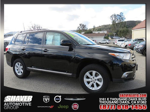 2013 TOYOTA HIGHLANDER - auto air third row seat alloys rear air privacy glass call now 0914